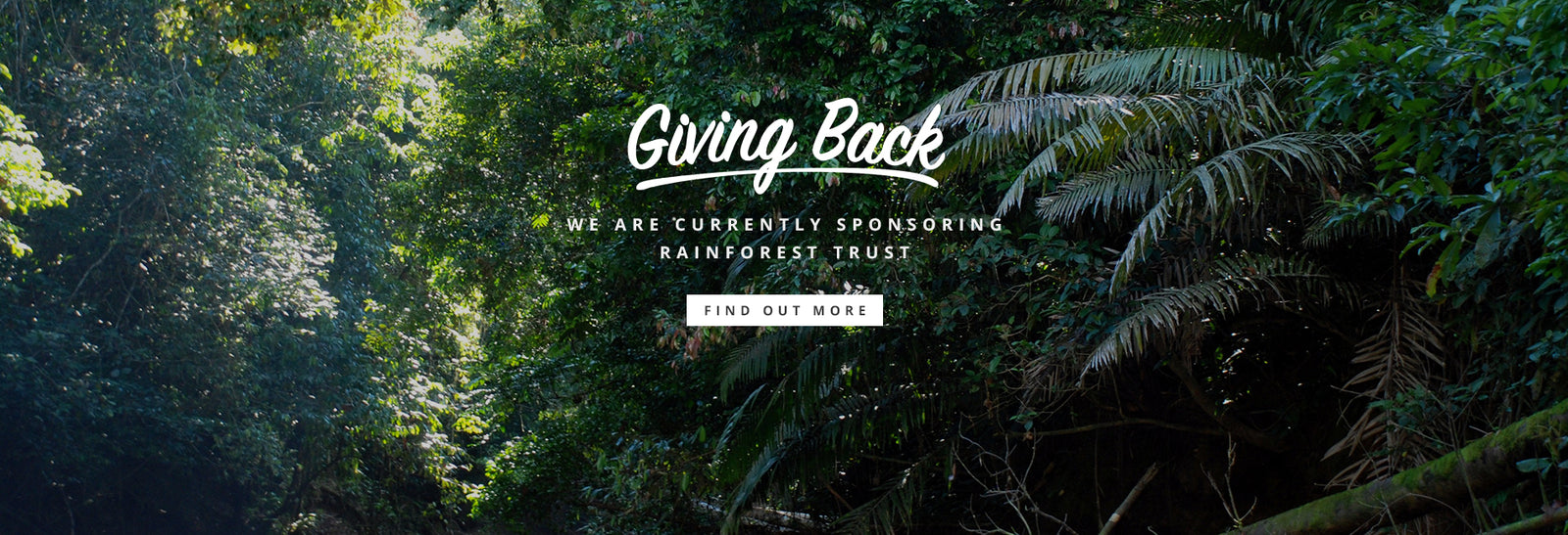 EnviroBuild Rainforest Trust Donation
