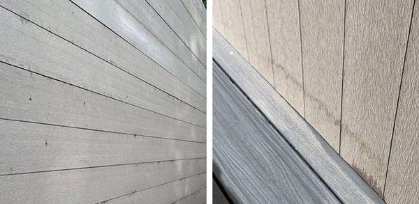 Tannin stains on Hyperion Cladding