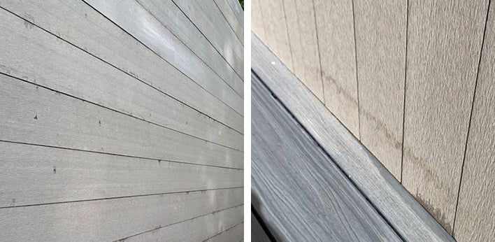 Tannin marks on Hyperion Cladding