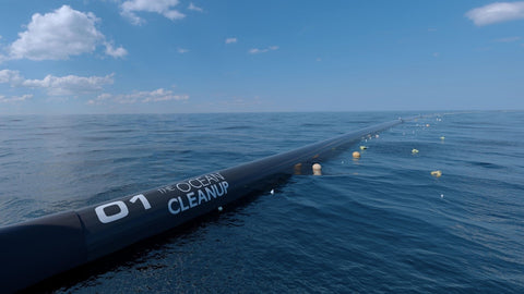 The Ocean Cleanup - system
