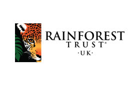 WE DONATE 10% OF OUR PROFITS TO RAINFOREST TRUST UK