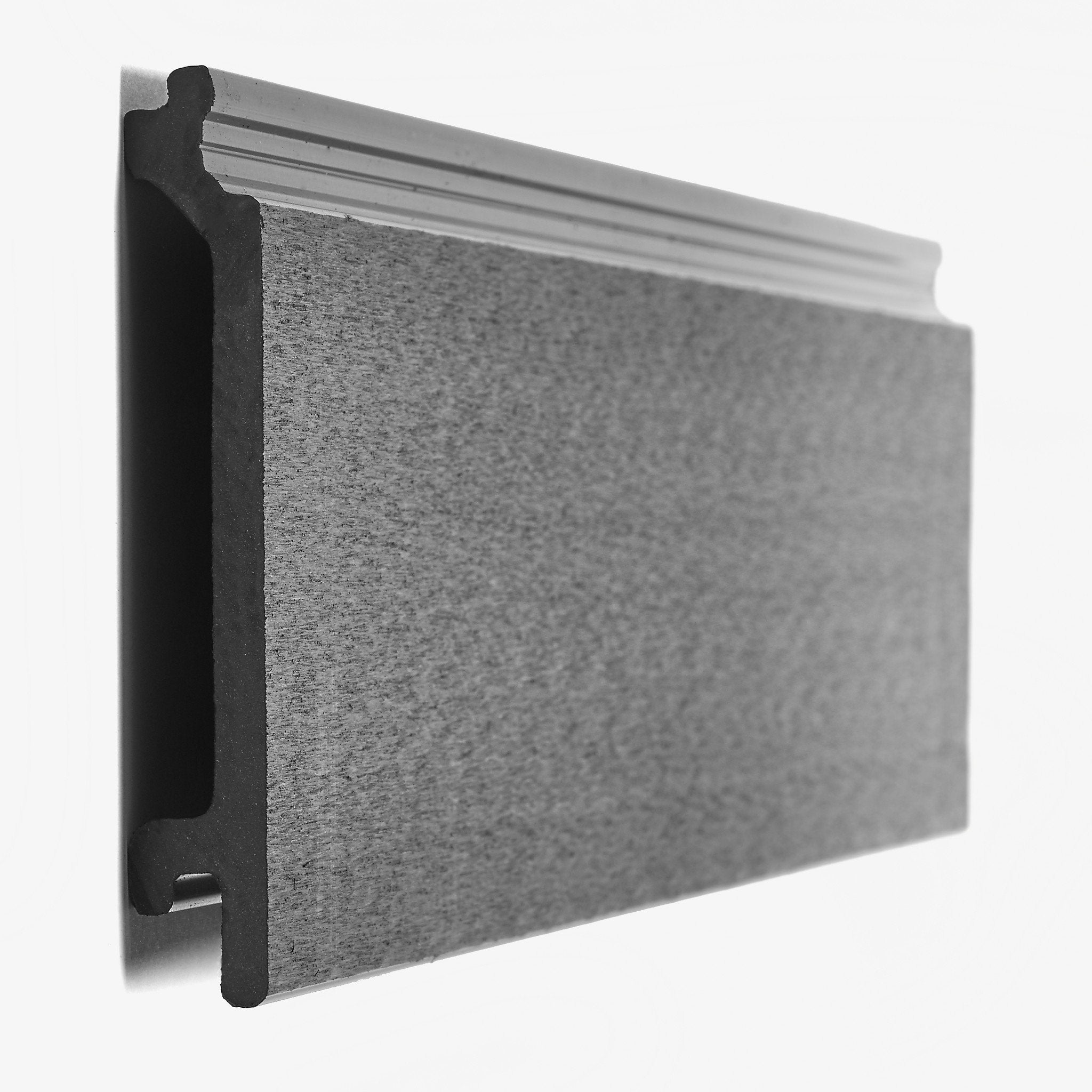 Hyperion composite cladding panel ampharosite black