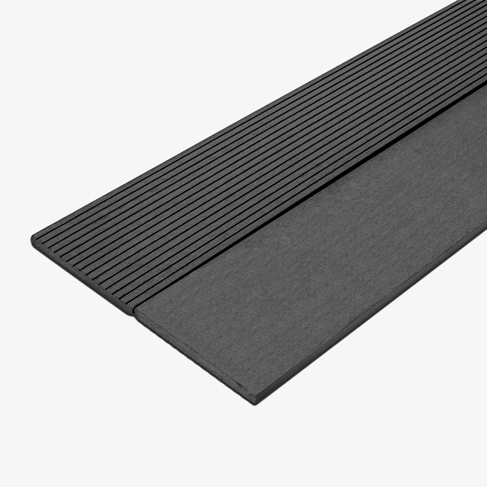Composite Deck Fascia Board - Granite | HYPERION Decking