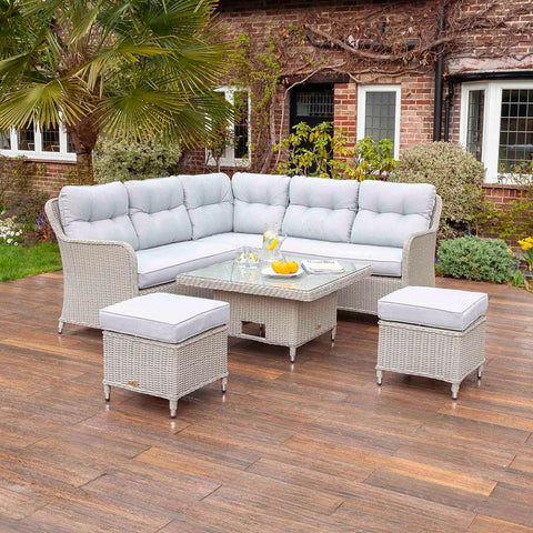 Kingsley 7 Seat Dining Sofa Set