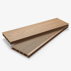 Composite Deck Board - Oak Light Brown | HYPERION Decking