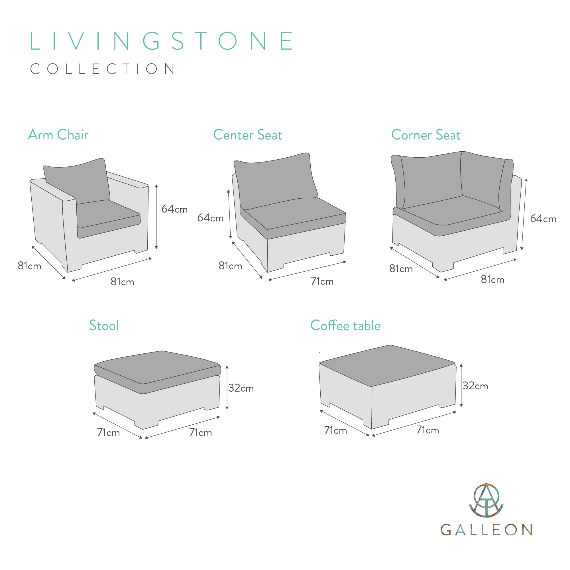 Livingstone Scuro Table