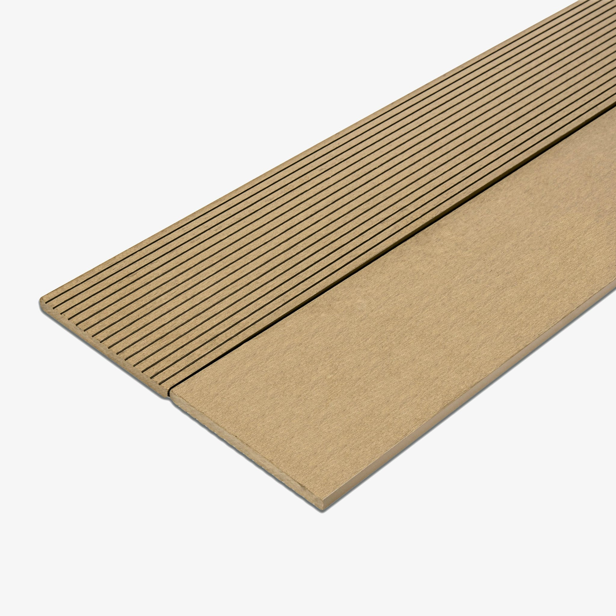 Composite Deck Fascia Board - Oak | HYPERION Decking