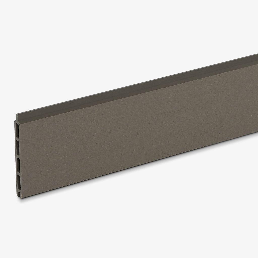 Hyperion composite fencing panel grey