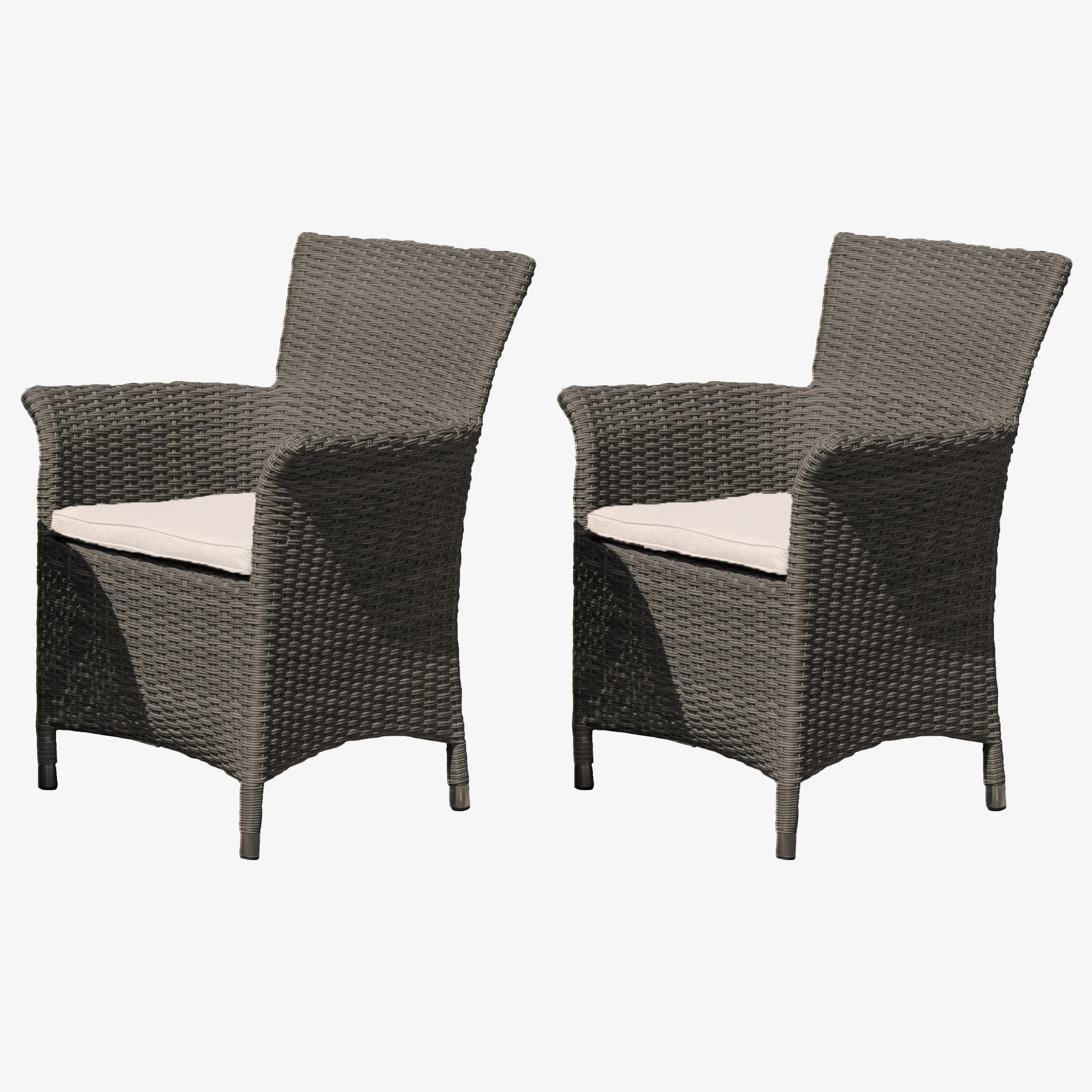 Serica Dark Chairs | Set of 2