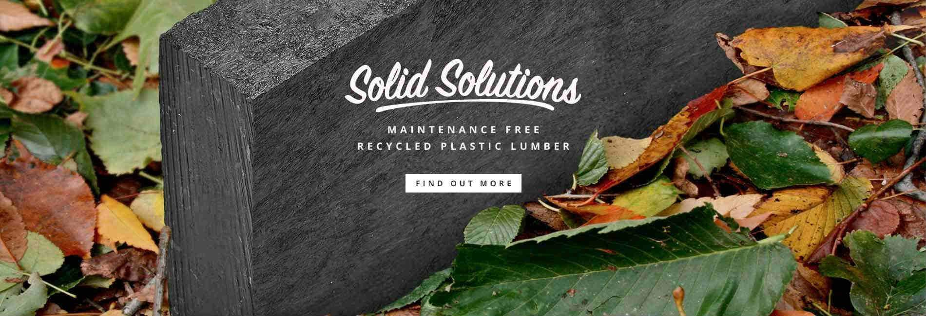 Manticore recycled plastic lumber