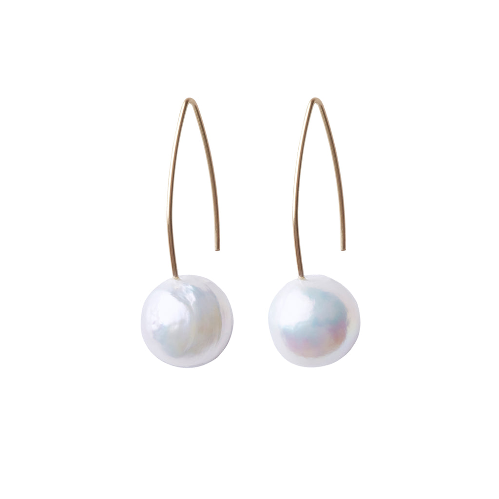 ARCHI BAROQUE PEARL EARRINGS