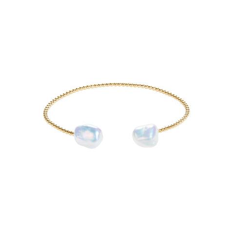 MERMAID KESHI PEARL BANGLE