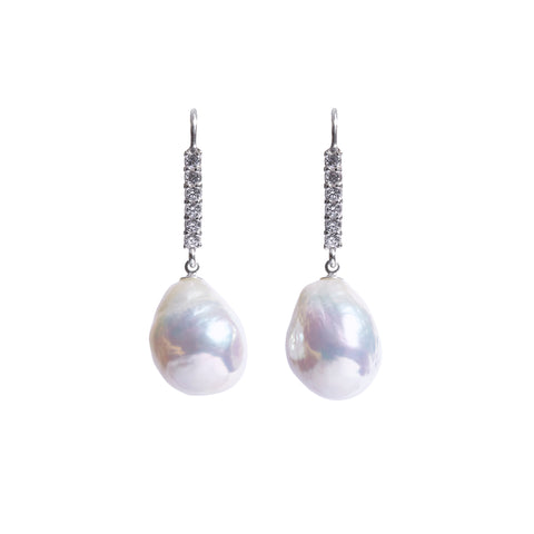 UARIA BAROQUE PEARL EARRINGS