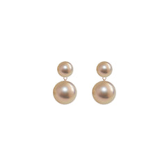 DUET  PEARL EARRINGS