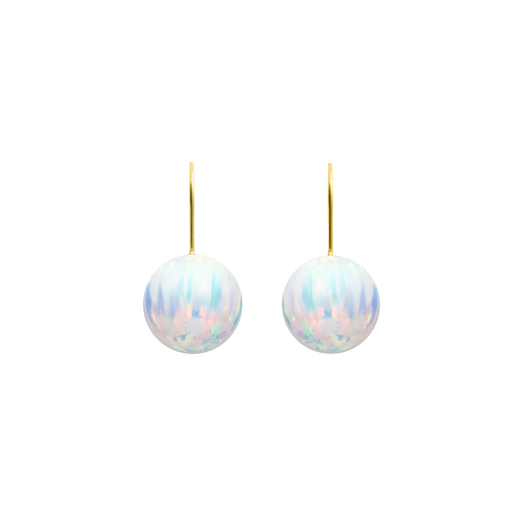 ICE OPAL HOOK EARRINGS | LARGE