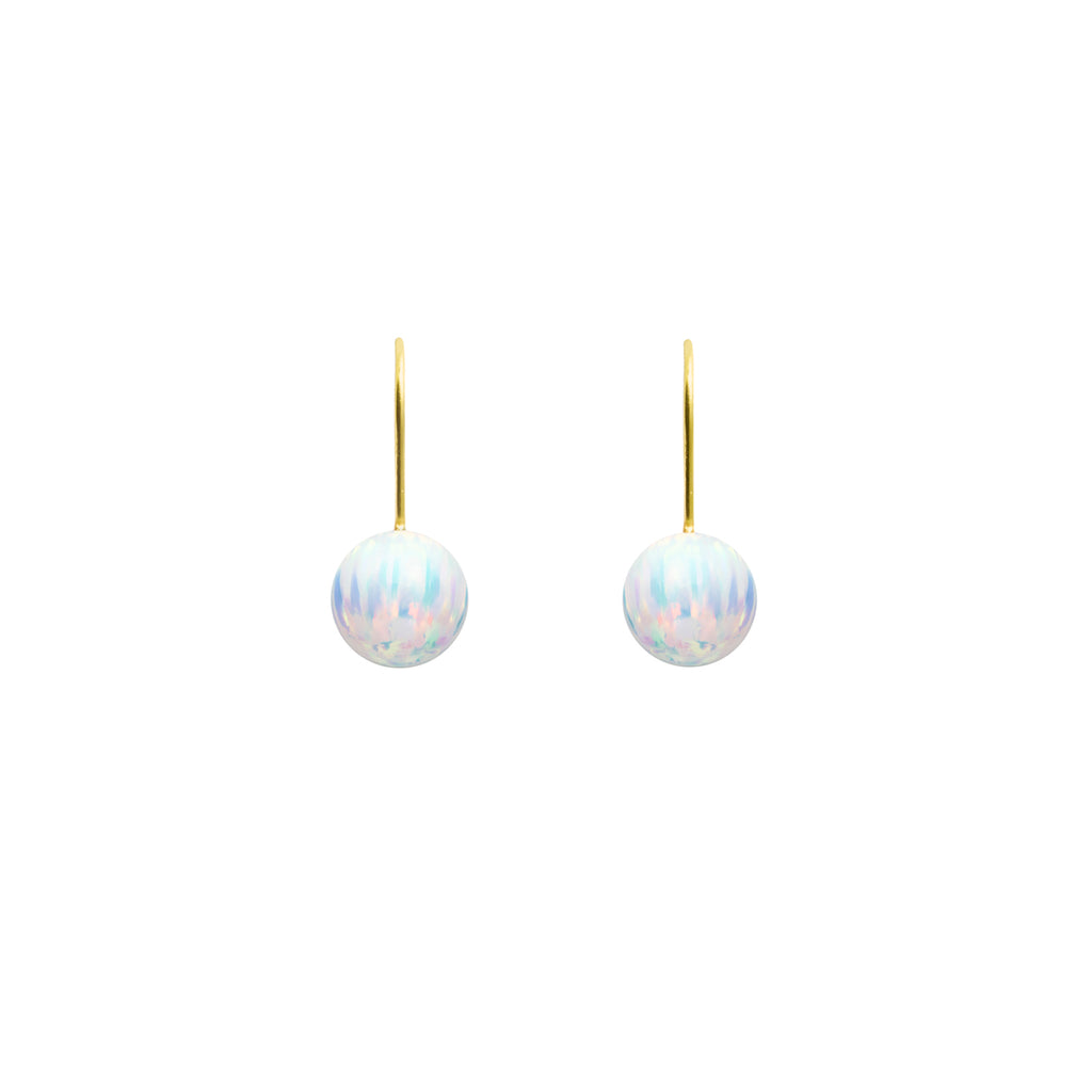 ICE OPAL HOOK EARRINGS | SMALL