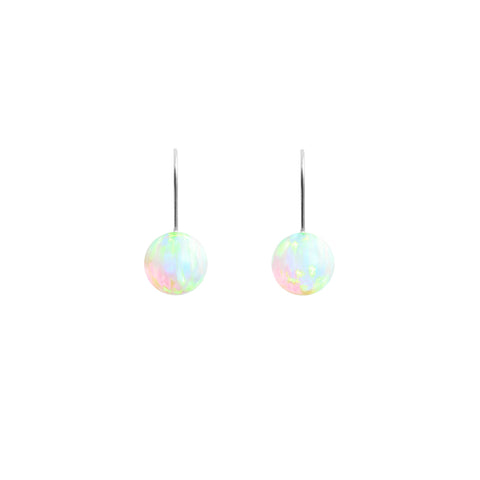 SEA OPAL HOOK EARRINGS | SMALL