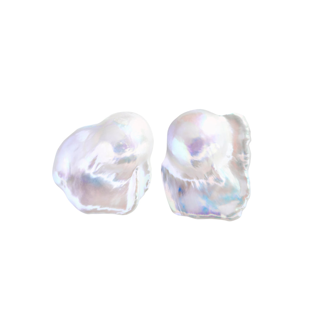 NEBULA COMET PEARL EARRINGS