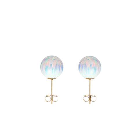 ICE OPAL STUD EARRINGS