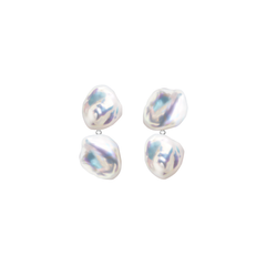DUET MERMAIA KESHI PEARL EARRINGS