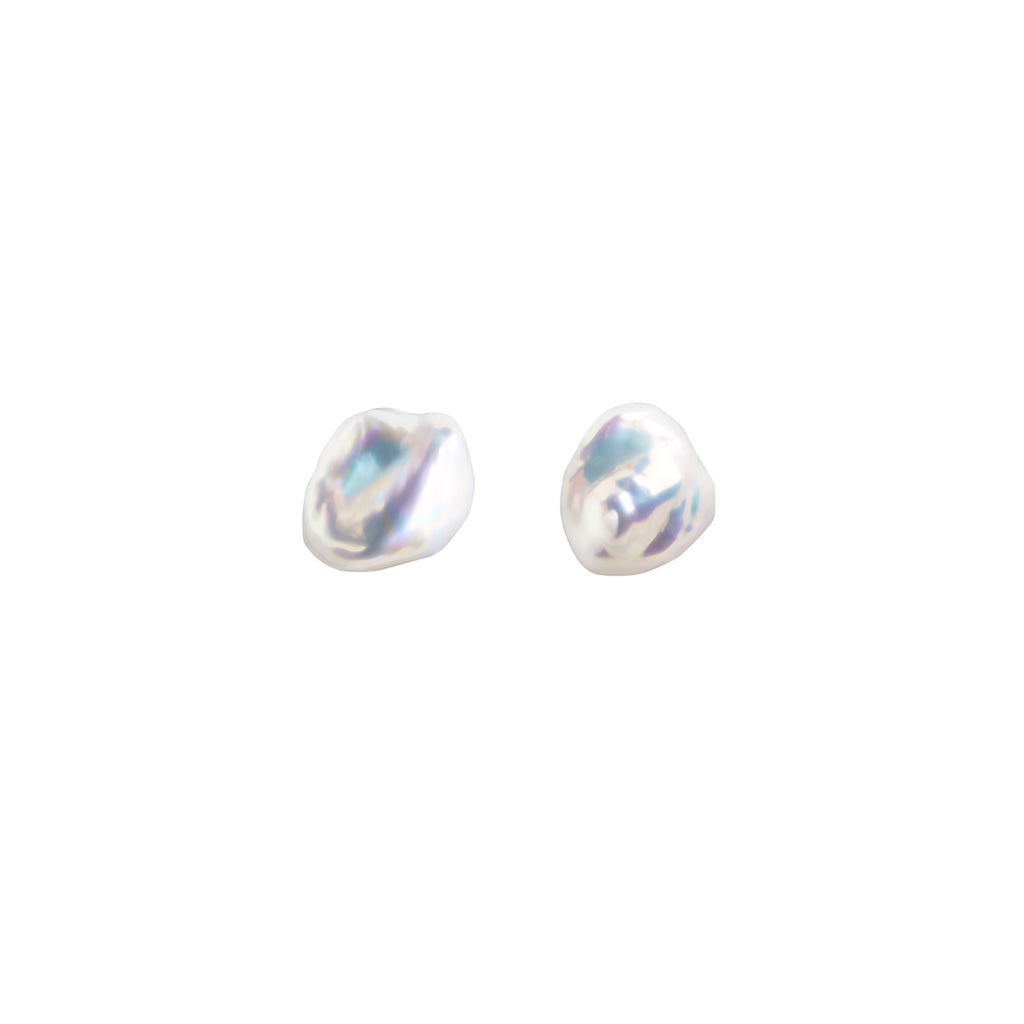 MERMAID KESHI PEARL EARRINGS