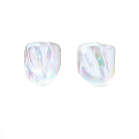 SABRE PEARL STUD EARRINGS