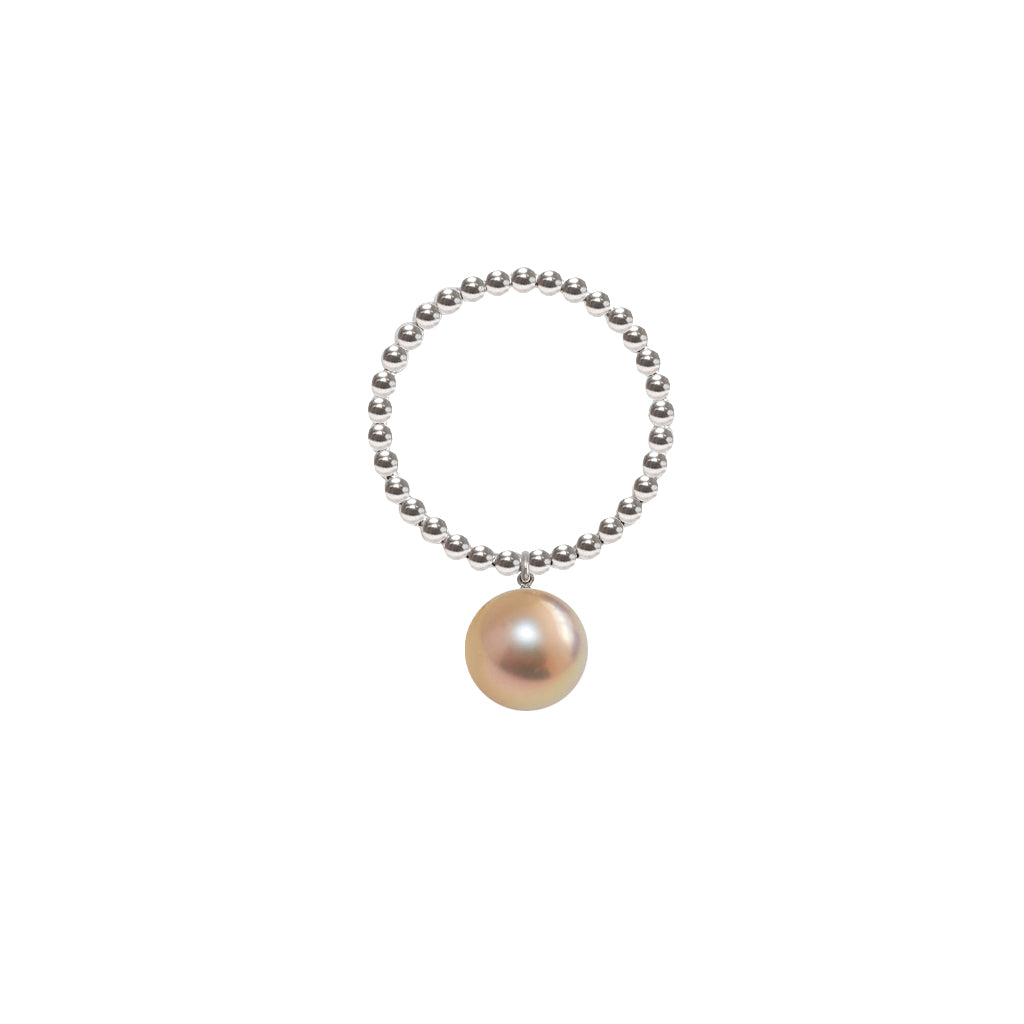 ORB RING - GOLD PEARL