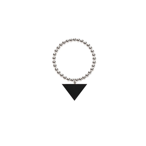 ORB RING - BUFFALO HORN TRIANGLE