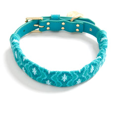 Turquoise with Pale Blue