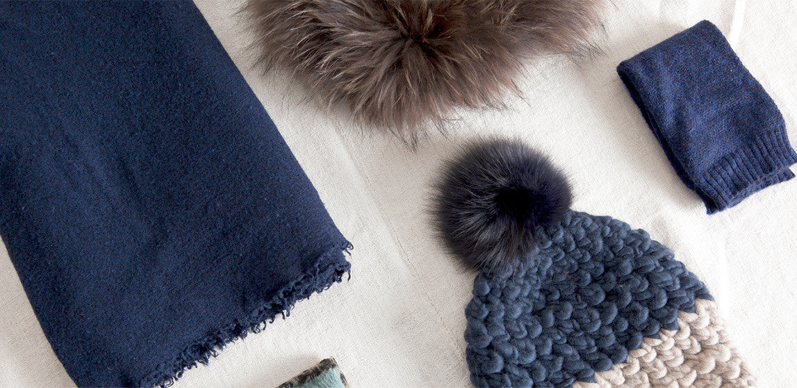 Winter inspiration: Navy linens