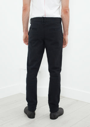 Raps Pant in Black