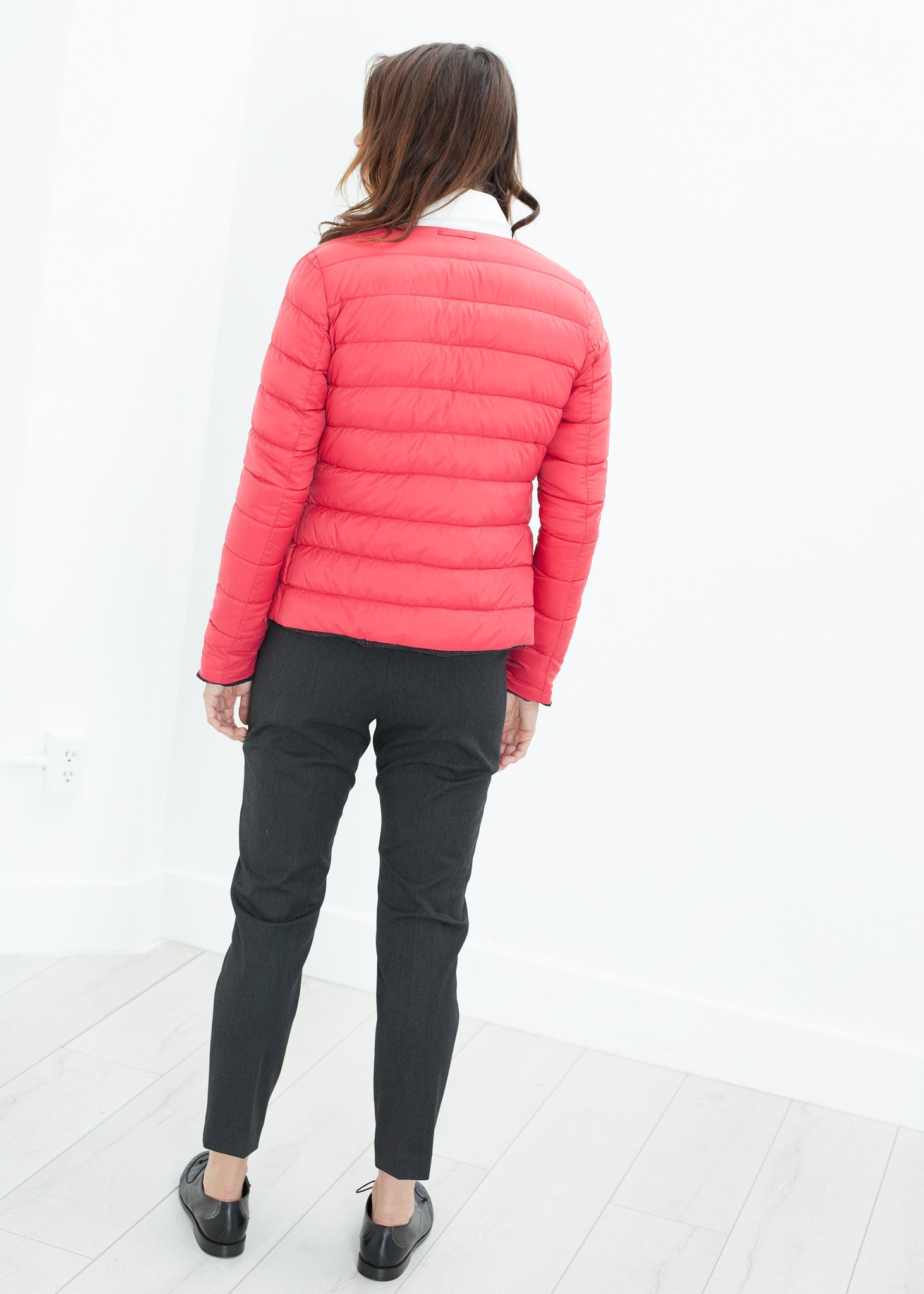 Camelia Reversible Jacket in Black/Red