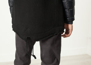 Hooded Parka in Black