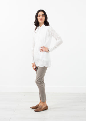 Pin Tuck Blouse