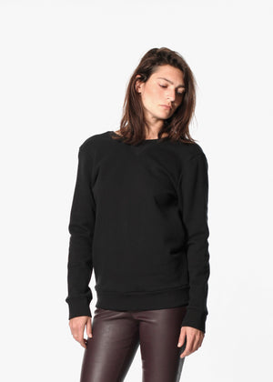 Symphonie Sweatshirt in Black
