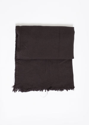 Simple Scarf in Old Black