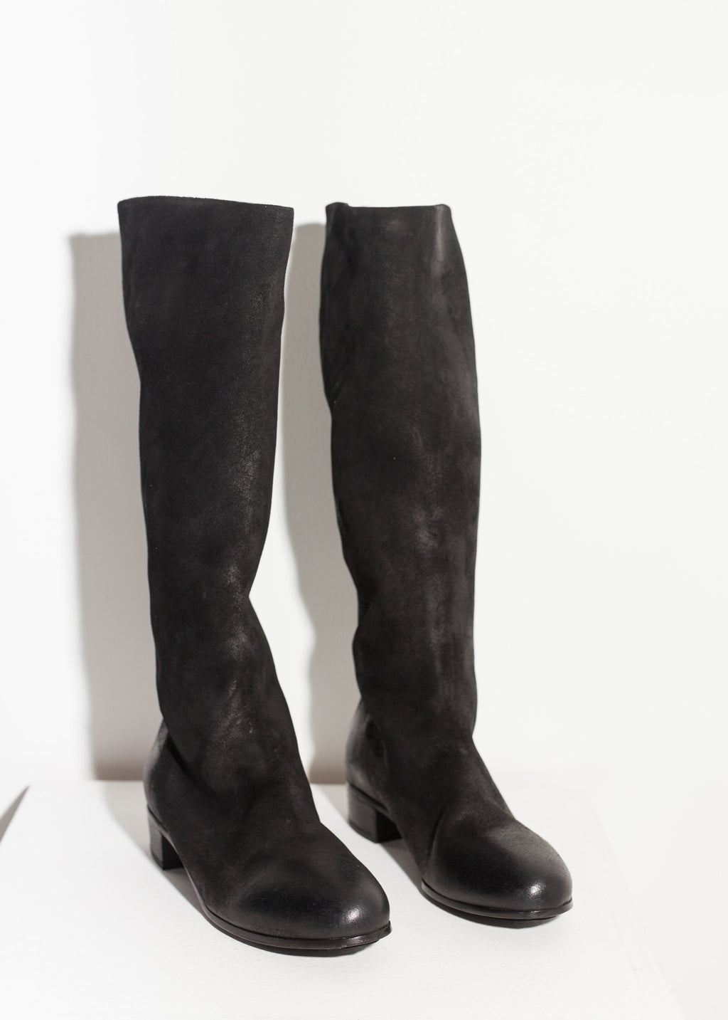 Knee-High Boot in Black