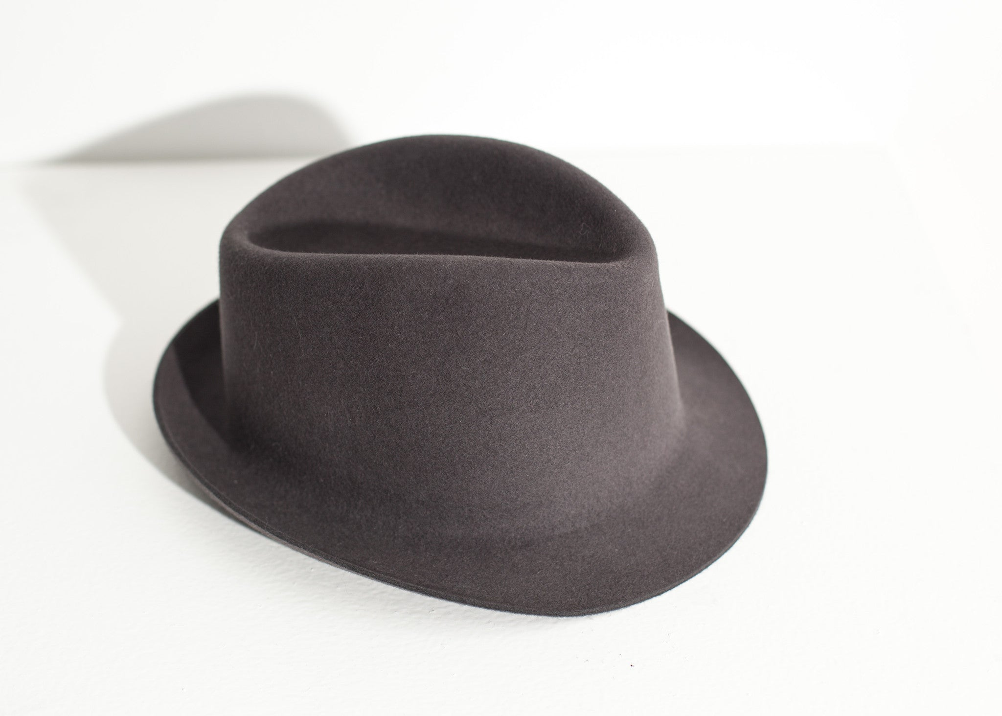Charles Hat in Steel Grey