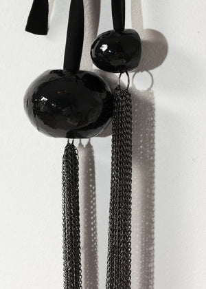 Cascade Necklace in Black