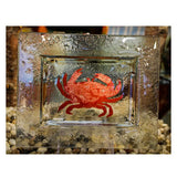 Copper and Glass Sealife Tray