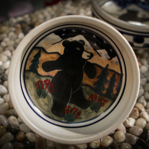 Dancing Bears Small Serving Dish