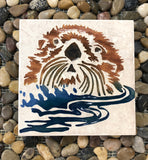 Alaskan Sandcarved Tiles