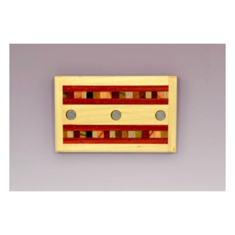 Handcrafted Wooden Magnetic Key Rack