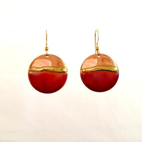 Copper & Brass Earrings