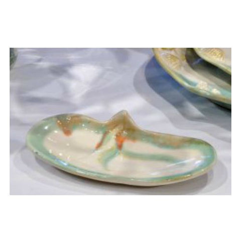 Pottery Razor Clam Dip Bowl