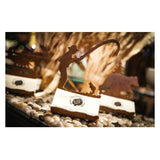 Rustic Steel Business Card Holders