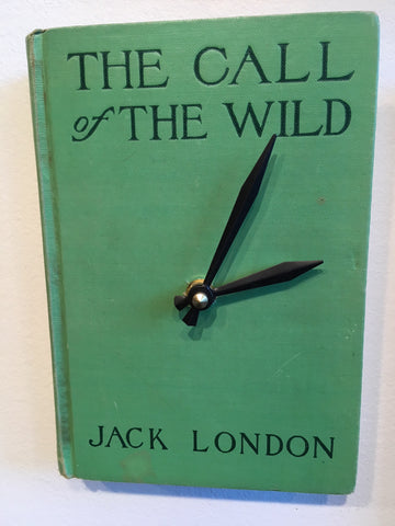 Book Clock - Call of the Wild