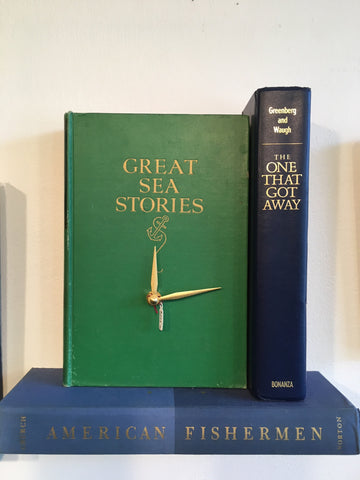 Book Clock - Great Sea Stories