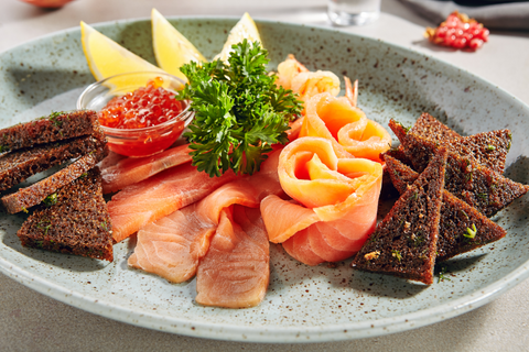 Salmon and other oily fish provide protein and essential fatty acids
