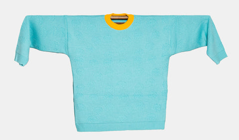 Knitted Sweater  -  Orquidea Azul